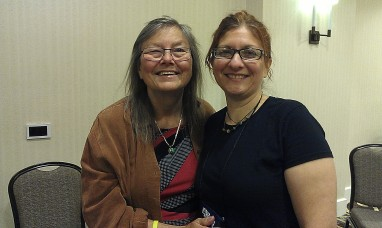 Dorothy Allison and me.